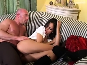 Young guy in army uniform his big cock
