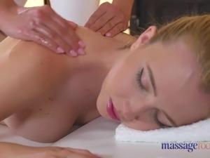 Massage Rooms High energy lesbian fucking
