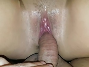 POV, squirt, great fuck in wet pussy wife! Hot...