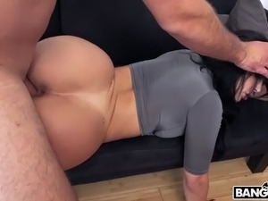 latina valerie kay gets fucked lying on her stomach