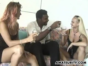 Busty amateur girlfriend sucks and fucks with creampie