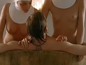 Silvia Colloca And Chiara Gensini  Nude Threesome Scene