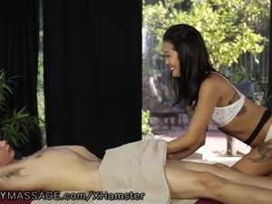 FantasyMassage High School Bully Squirted on my Cock