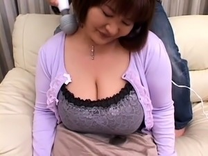 Big breasted Oriental milf is in need of a hard pounding