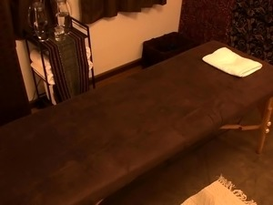 From tender oily massage to hardcore sex with the masseur