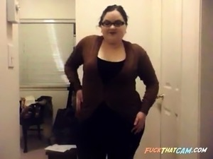 Chubby girl with amazing small breasts 2- CassianoBR