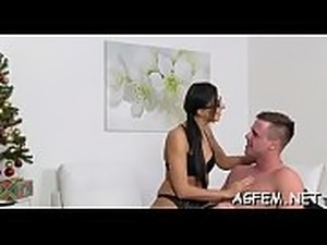 Pussy of female agent is fuked hard