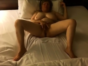 SEXY BIG BOOBS BLONDE ANAL MASTURBATION