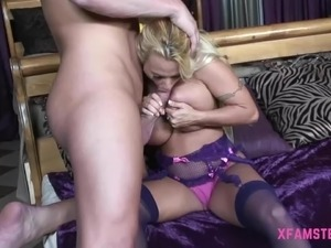 Very cute tiny anal loving girlfriend giving rimjob to lucky