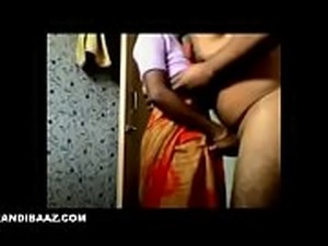 Indian maid quickie sex with owner