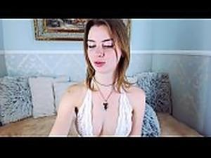 Girlfriends Mom LaLaCams.com Petite Solo Girl Masterbates Big Tits NUDE