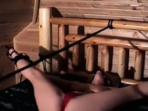 Large stud bounds and gets rough with a horny slut