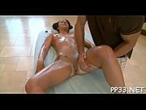 Oil massage episode scene