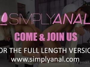 Simplyanal - Billie Star Blanche - Lesbian Anal Sex