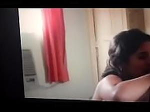 Beautiful desi wife giving a mind blowing blowjob