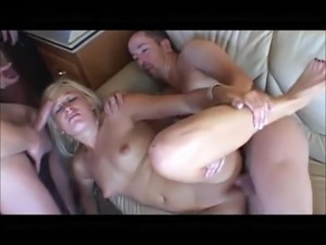 Young hitchhiker Heather picked up and gangbanged in van