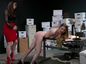 nadya nabakova gets punished by the boss of her dreams