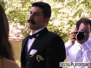 DigitalPlayground - Wedding Belles Scene 2 Casey Calvert Bra