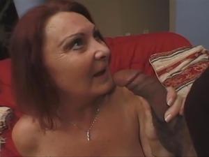 BBW Redhead Granny