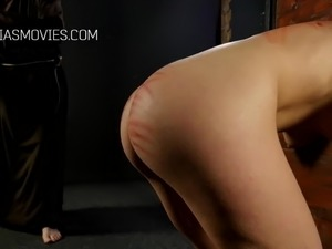 Little slut butt whipped