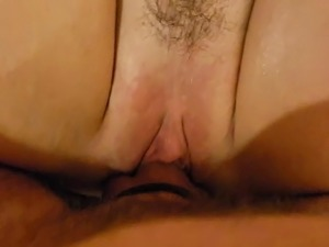 Close-up female orgasm