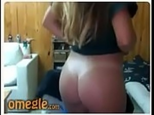 Hermosa Argentina video webcam Omegle rubia culo incre&iacute_ble