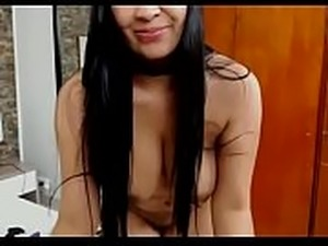 Latin babe sexy stripped show