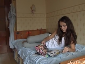 Hot Sex With The Petite Teen Elizabet