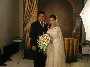couple wedded SL
