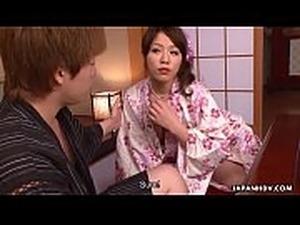 Engsub Kana Suzuki and China Mimura sharing a hard cock Full at...