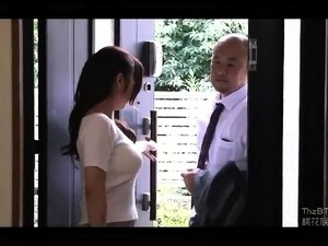 Enticing Asian wife braces herself for a hardcore pounding