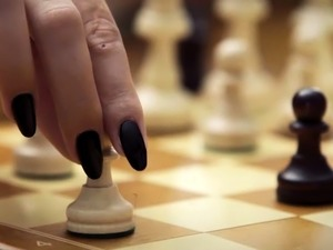 Sexy chess game where the winner is going to be fucked
