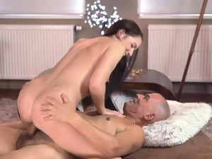 Old man big tits xxx Vacation in mountains