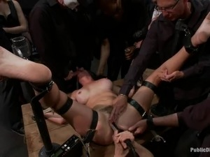 Princess Donna Dolore gets fucked by a few men while in chains