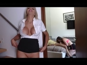 Big boobs amateur stepmom realy hard time punish sex at flat