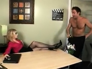 French Busty MILF Jammed By A Teen Hardcore Lingerie