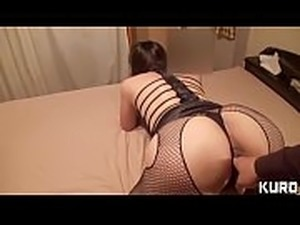 Amateur wife whose husband is on a business trip 17 -LIcking &amp_ fingering...