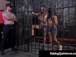Jailbirds Gabby Quinteros Jessica Jaymes Bang Prison Guard