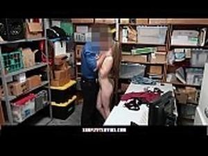 Pregnant Teen Shoplifts Fucks LP Officer To Avoid Jail